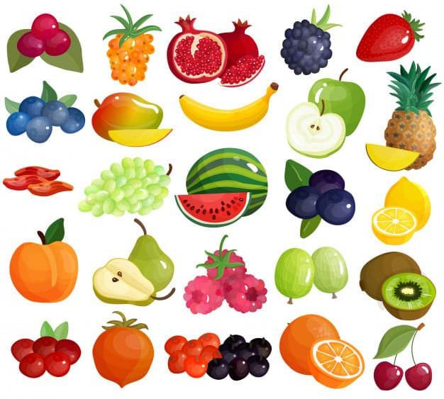 high and low lectin fruits